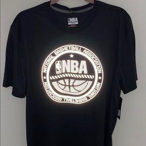 Men's reflective nba tshirt